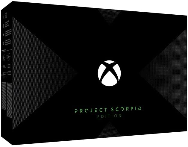 Xbox One X Project Scorpio Edition 1TB Console - Boxed