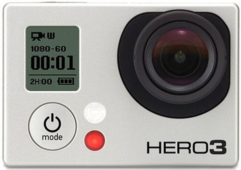 GoPro HD HERO 3 Silver Edition, No Remote