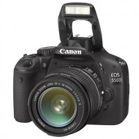 Canon EOS 550D Digital SLR Camera With 18-55mm Lens