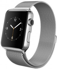 Apple Watch (A1554) Stainless Steel 42mm with Milanese Loop
