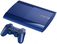 PlayStation 3 500GB Super Slim Blue