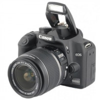 Canon EOS 1000D 10M with 18-55mm lens