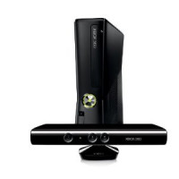 Xbox 360 4GB Slim Console with Kinect Sensor