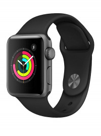 Apple Watch Series 3 38mm GPS Space Grey + Strap