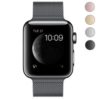 Apple Watch (A1554), Space Black Stainless Steel, 42mm with Watch strap