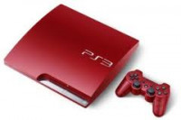 Playstation 3 320GB Slim S. Red
