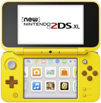 NEW Nintendo 2DS XL Pikachu Edition, Unboxed