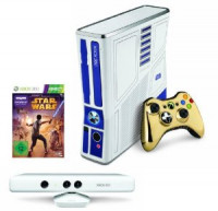 Xbox 360 320GB Star Wars Kinect Limited Edit. with Kinect and Star Wars