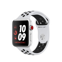Apple Watch Series 3 (GPS), Nike+ 42mm Silver Aluminium Case with Sport Band