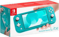 Nintendo Switch Lite Console 32GB Turquoise, Boxed