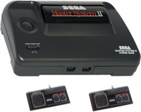 Sega Master System 2 with controller