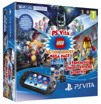 PlayStation Vita (2016), Lego Action Heroes Mega Pack, 8GB Memory card