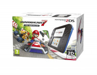 Nintendo 2DS with Mario Kart 7 Black-Blue