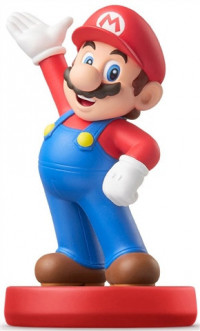 Nintendo Amiibo Super Mario Collection Mario (Red Base)
