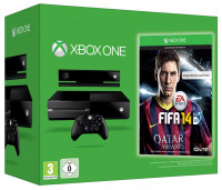 Xbox One 500GB With Kinect, Fifa 14