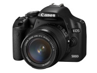 Canon EOS 500D Digital SLR Camera with 18-55mm Lens