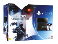 PlayStation 4 and Killzone Shadow Fall with Controller