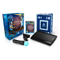 Sony PlayStation 3 12GB Super Slim with Book Of Spells - Wonderbook, Move Controller and Eye Cam.