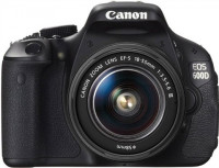Canon EOS 600D with 18-55mm lens