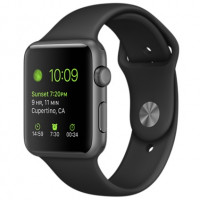 Apple Watch Sport 43mm, Space Grey Aluminium